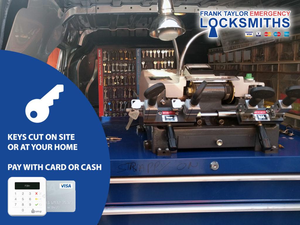 Emergency Locksmith Service Edinburgh Pay With Card