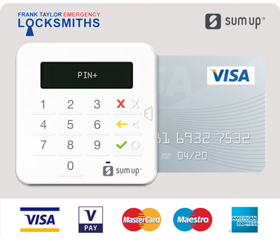 Edinburgh Locksmith pay with card