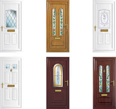 UPVC doors can come in may shapes and sizes