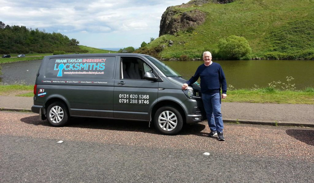 Edinburgh Locksmith with Van