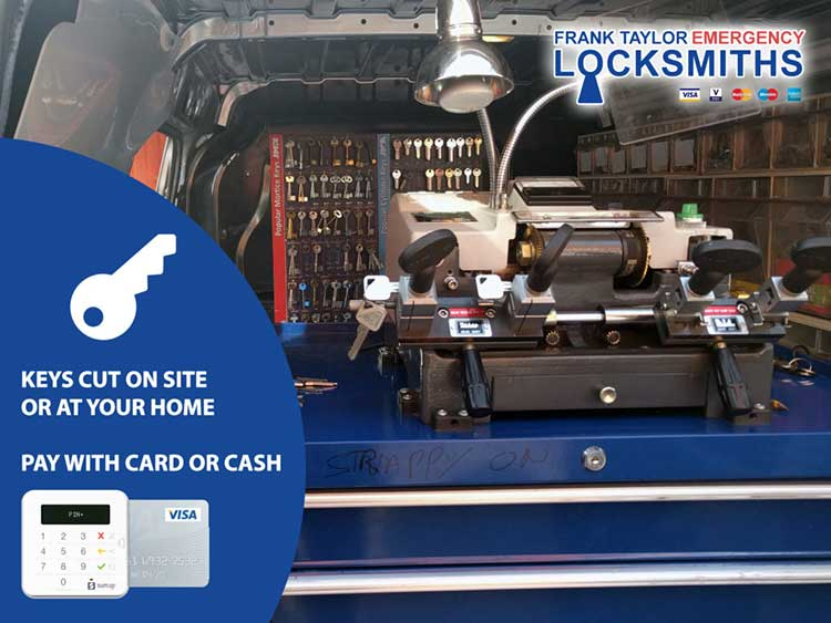Emergency Locksmith Service Edinburgh Pay With Card